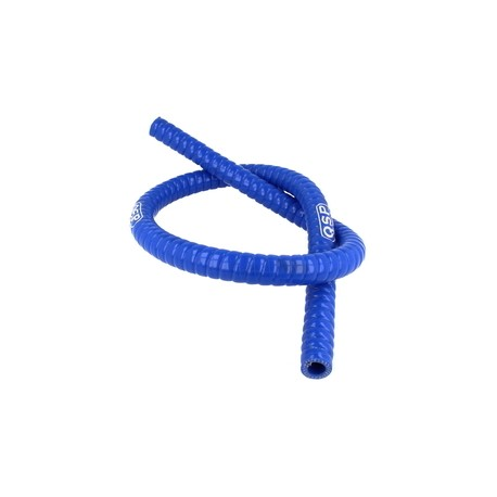 Tuberia flexible, color azul, 1M. diam. 13mm