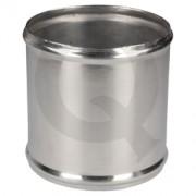 Acople aluminio,D57 L75