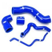 Kit manguitos silicona RENAULT 5 GT Turbo Phase 1 (capteur boost a l'intercooler + dump valve 25mm)