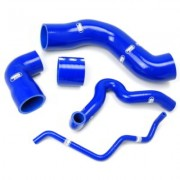 Kit manguitos silicona RENAULT 5 GT Turbo Phase 2 (capteur boost a l'intercooler + dump valve 25mm)