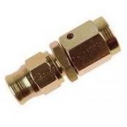 Racord Hembra Giratorio Concavo 3/8 x 24 JIC acero cincado Reusable 600-03