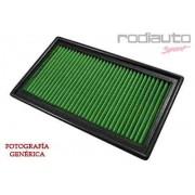 Filtro sustitución Green Volkswagen Sharan Ii (7n) 08/10-