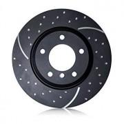 Discos EBC GD Traseros PEUGEOT 206CC 2.0 16v (Disc offset 34mm) cv