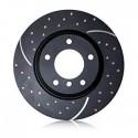 Discos EBC GD Delanteros RENAULT Megane MK2 Hatch 2.0 TD 150 cv