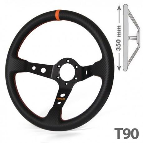 RRS carbon look black-orange