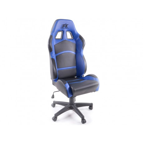 Silla oficina Cyberstar negro/azul