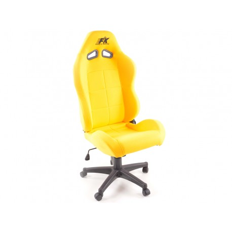 Silla oficina Pro Sport amarillo