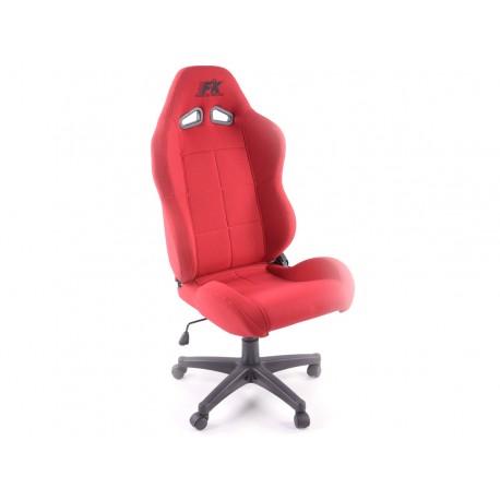 Silla oficina Pro Sport rojo
