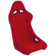Asiento deportivo Zandvoort - Red - No-reclinable back-rest - incl. correderas