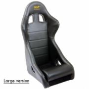 Racingseat tubulair Black vinyl - Big model