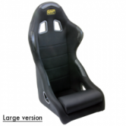 Racingseat tubulair Black fabric - Normal model