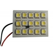 PLACA 15 HP LEDS BLANCOS 37x23mm C/ADAPT.