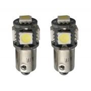 BOMBILLAS POSICION 5 SUPER LED BLANCO C/CASQ CANBUS