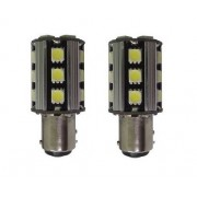 BOMBILLAS 2 POLOS SUPER LED BLANCO SUPER CANBUS