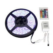 TIRA DE LED MULTICOLOR DE 5M, C/C. REMOTO