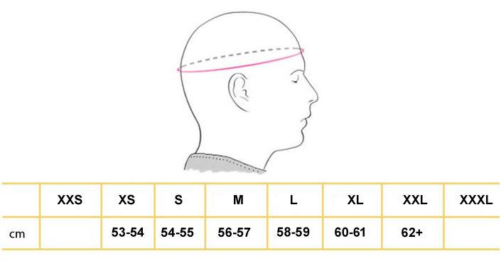 tallas cascos